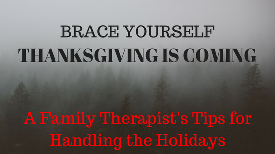 Tips for Dealing with Family this Holiday Season